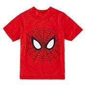 Boys Marvel Rash Guard-Toddler