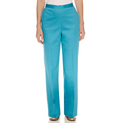 Alfred Dunner Scenic Route Flat Front Pant
