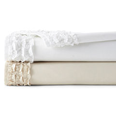 JCPenney Home™ 300tc Easy Care Ruffle Sheet Set