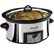 Crock-Pot® 6-qt. High-Polish Slow Cooker