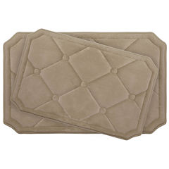 Bounce Comfort Gertie 2-pc. Memory Foam Bath Mat Set