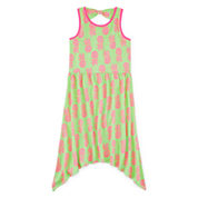 Total Girl® Sleeveless Back-Bow Dress - Girls 7-16 and Plus