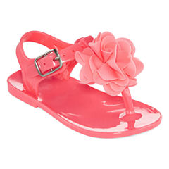 Okie Dokie® Girls Jelly Sandals - Baby Girls S-L