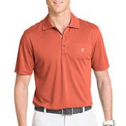 IZOD® Short-Sleeve Golf Grid Polo Shirt