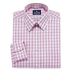 Stafford Travel Performance Super Shirt Big & Tall Long Sleeve Dress Shirt