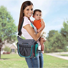Fisher Price Cross Body Tote Diaper Bag