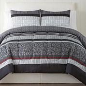 Home Expressions Granite 3-pc. Comforter Set
