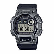 Casio Mens Black Strap Watch-W735h-1a3v