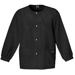 Cherokee Snap Front Warm-Up Jacket