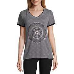 Made for Life™ Paisley Graphic Layered Tee
