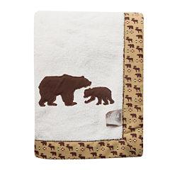 Trend Lab® Bear Receiving Blanket