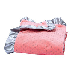 Trend Lab® Pink Anchor Velour Blanket