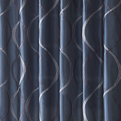 Madison Park Pierre Shower Curtain
