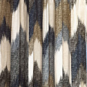INK+IVY Alpine Cotton Printed Shower Curtain