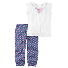 Carter's 2-pc. Legging Set-Preschool Girls