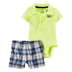 Carter's Ib Diaper Cover Sets Bodysuit Set-Baby Boys