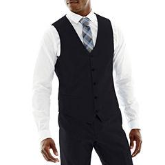 J.Ferrar Navy Slim Vest