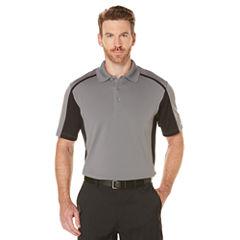 PGA TOUR Short Sleeve Mesh Polo Shirt