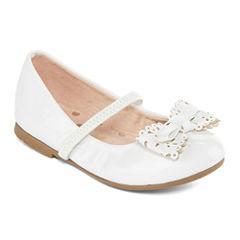 Christie & Jill Lil Poppy Girls Mary Jane Shoes - Toddler
