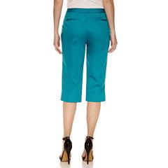 Worthington Cropped Pants-Petites