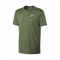 Nike Short Sleeve Round Neck T-Shirt