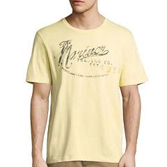 St. John's Bay Mariner Short Sleeve Crew Neck T-Shirt