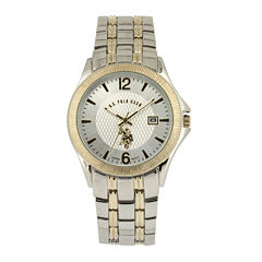 U.S. Polo Assn.® Mens Two-Tone Stainless Steel Watch