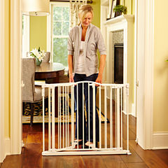 North States™ Deluxe Decor Baby Gate