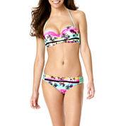 Arizona Dream Tropical Macramé Bandeau Swim Top or Swim Bottoms - Juniors