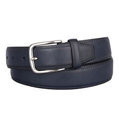 Dockers® Drop Edge Belt with Contrast Stitching - Big & Tall