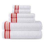 JCPenney Home™ Quick-Dri™ Striped Washcloth