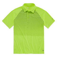 Xersion Short Sleeve Grid Polo Shirt Boys