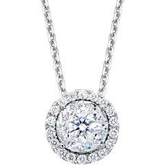 Brilliant Dream™  1/2 CT. T.W. Round Diamond Pendant Necklace