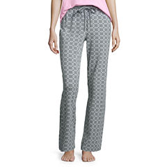 Liz Claiborne Jersey Geometric Pajama Pants
