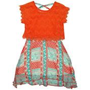 Nanette Baby Short Sleeve Sundress - Toddler Girls