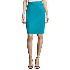 Worthington Sateen Skirt Pencil Skirt