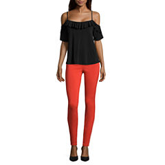 i jeans by Buffalo Tie Sleeve Off Shoulder Top or Super Stretch Pants