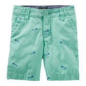 Oshkosh B'gosh® Cotton Shorts - Toddler Boys 2t-5t