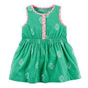 Carter's® Sleeveless Printed Dress - Baby Girls newborn-24m