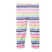 Carter's® Striped Capri Leggings – Preschool Girls 4-6x