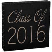 """Class Of 2016"" Sentimental Wooden Decorative Box"