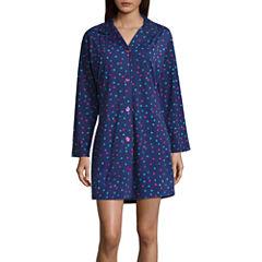 Bed Head Knit Long Sleeve Nightshirt