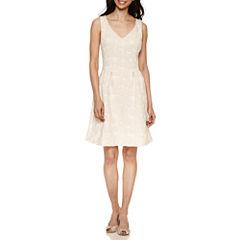 Scarlett Sleeveless Fit & Flare Dress