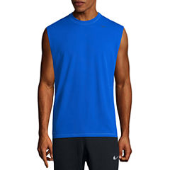 Nike Solid Sleeveless Swim Tee 40+ UPF Protection
