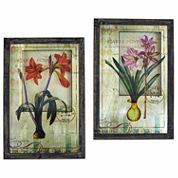 Framed French Floral Art Floral Prints