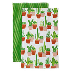 JCPenney Home Cacti 2-pc. Kitchen Towel