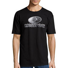 Mossy Oak® Short-Sleeve Cast Metal Logo Tee