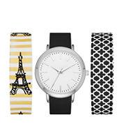 Mixit Womens Multicolor Strap Watch-Fmdjps090