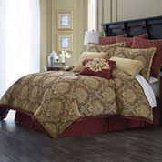 Royal Velvet® Jarvis 4-pc. Chenille Comforter Set