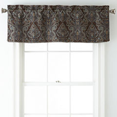 Royal Velvet® Manchester Rod-Pocket Tailored Valance